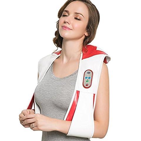 HHORD LED massage col châle épaule massage machine LDE numérique à écran Body Massage Accueil et utilisation de la voiture