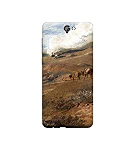 Ebby Premium Printed 3D Designer Back Case Cover For HTC One A9 (Premium Designer Cae)