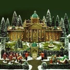 Dept 56 Dickens RAMSFORD PALACE SET/17 LIMITED EDITION #18275 of 27,500 Sets by Department 56