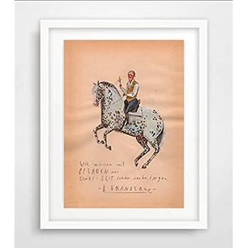 "Poster Din A4 ""B. Branderup"" Aquarell, Print, Kunstdruck, Illustration,"