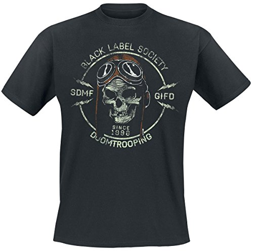 Black Label Society Doomtrooper T-Shirt schwarz M (T-shirts Herren Black Label)