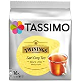 Twinings Tassimo Earl Grey (16 Portions) (Pack de 4)