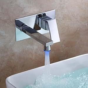 Küchenarmatur Tmaker- Zeitgenössisch - LED - Messing ( Chrom )