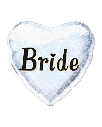 Preisvergleich Produktbild Hochzeits Folienballon Braut