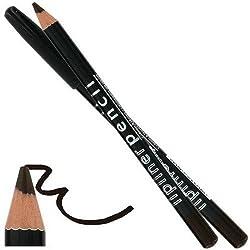 L.A. COLORS - Lipliner Pencil CP521 Deepest Brown Long Lasting - 0.035 oz. (1 g)