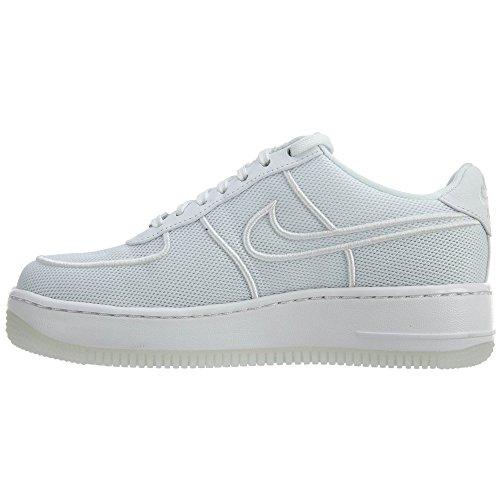 Nike Wmns Af1 Low Upstep Br, Scarpe da Ginnastica Donna bianco / bianco