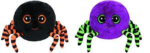 Crawly - Halloween Spinne, 15cm, mit Glitzeraugen, Beanie Boo's, limitiert, farblich sortiert