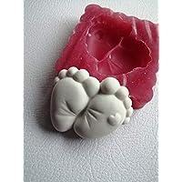 Stampo piedini nascita bomboniere per sacchettini fai da te
