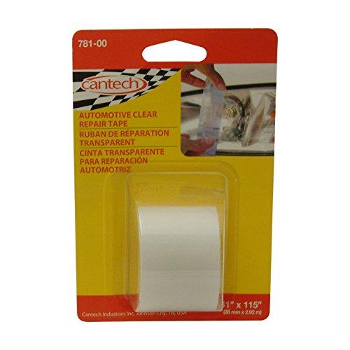 cantech 781Automotive Objektiv Tape: 1–1/2in. x 60in. (kristallklar)