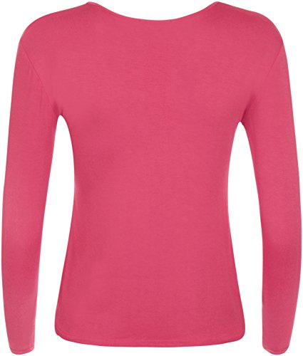 WearAll - Top - Donna Cerise