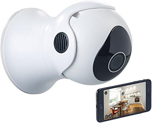 7links Outdoor Kamera: Außen-Wifi-IP-Überwachungskamera, HD, App, komp. zu Echo Show & Spot (Outdoor Überwachungskamera)
