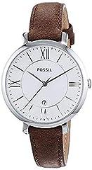 Idea Regalo - Fossil Orologio Analogico Quarzo Donna con Cinturino in Pelle ES3708