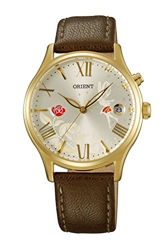 Watch Orient Automatic Women's Gold Dial Decorated dm01005s.