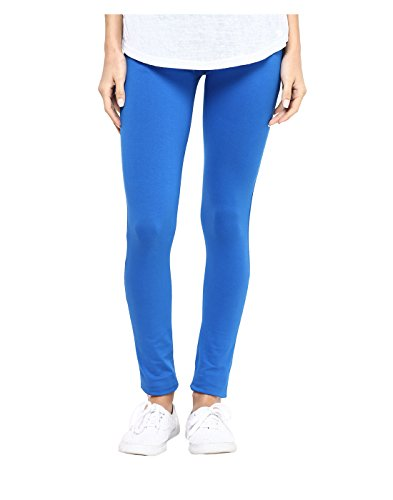 Yepme Women's Blue Cotton Leggings - YPWLGGN5169_S  available at amazon for Rs.149