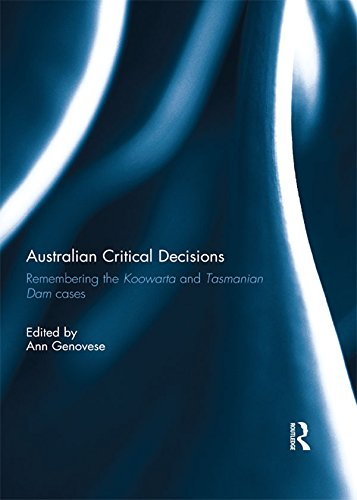 Australian Critical Decisions: Remembering Koowarta and Tasmanian Dams