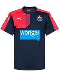 2015-2016 Newcastle Puma Training Shirt (Peacot)