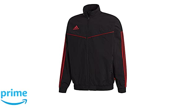adidas Tango Anthem Woven Veste Homme, BlackHi Res Red, s