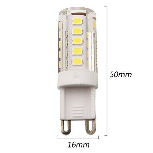 10Stück 3Walt G9LED Lampe Entspricht 30W Halogenlampe 33SMD 2835AC220V 250LM Abstrahlwinkel von 360Grad Warmweiß 3200K - 5