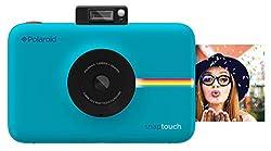 Polaroid Digitale Instant Snap Touch Kamera Mit Zink Zero Ink Technologie Blau