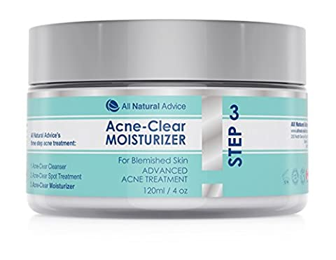 NEW! Advanced Acne Moisturizer - Naturally Organic - Made in