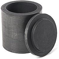 lucksender 40* 40mm suministro de laboratorio de crisol de grafito con tapa artículos