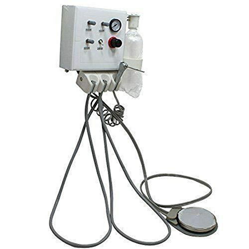 BTdahong Dental Portable Turbineneinheit Wall-Mount Luft Steuerung 0.1~0.25Mpa 4 Löchern Tube SN4 + 3 Way Syringe -