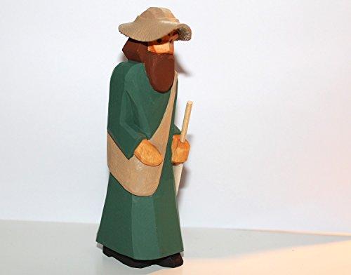 Hüte Pilger (Lotte Sievers-Hahn Krippenfiguren * Der Pilger mit Hut im)