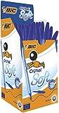 Bic, penna a sfera cristal soft 50 pezzi blu