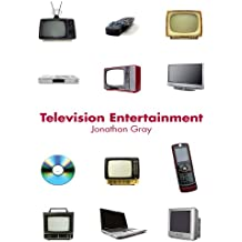 Television Entertainment (Communication and Society)
