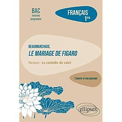 Français, Première. L'œuvre et son parcours : Beaumarchais, Le mariage de Figaro, parcours 'La comédie du valet'
