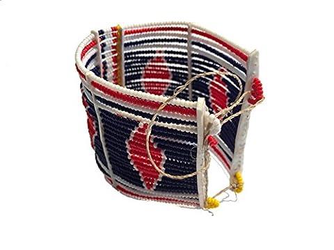 Bracelet Masai réglable samawati Collection Sisi mbili