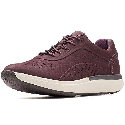 Clarks Sportschuhe für Damen 26137979 UN Cruise AUBERGINE Schuhgröße 38 -