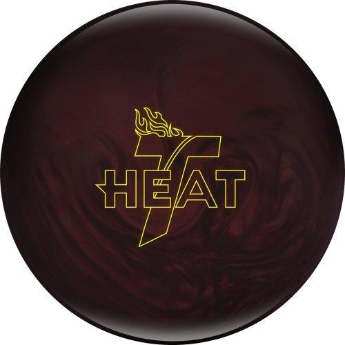 Track Heat Bowling Ball, Maroon Pearl, 12 lb