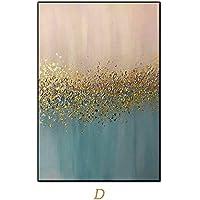 Pintura Al Óleo Pintada A Mano,Pintura Al Óleo Pintado A Mano Puro Tamaño Grande Abstracto Minimalista Moderno Retro Rosa Azul Golden Humor Arte Graffiti Mural De Fondo La Pintura De Aceite Para El Ho