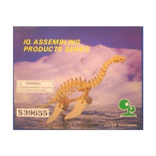 Dinosaur, Plesiosaurus model kit, wood, balsa NIB (Dinosaur Model Kit)