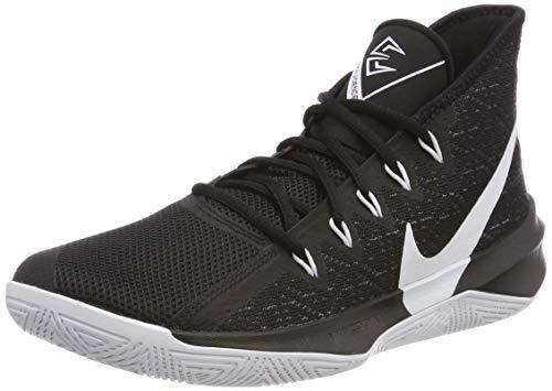 Nike Herren Zoom Evidence III Basketballschuhe Schwarz White/Black 002, 45 EU - Basketball-schuhe Aus