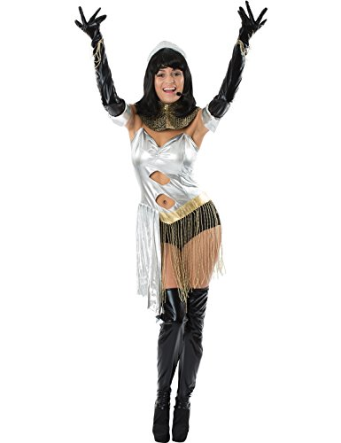 Erwachsener Die Bodyguard Diva 90er Film Karneval Verkleidung Kostüm (Kostüm Diva Popstar 80's)