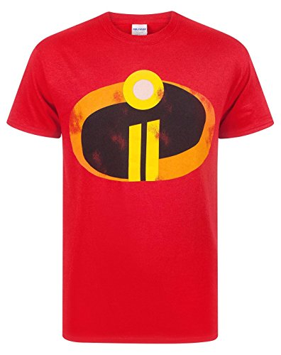 Kostüm Kinder Incredibles - The Incredibles 2 Men's Costume T-Shirt (XL)