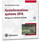 Geoinformationssysteme 2016: Beiträge zur 3. Münchner GI-Runde