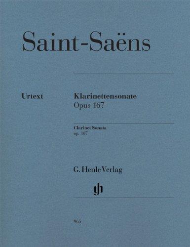 Sonate Opus 167 --- Clarinette et Piano