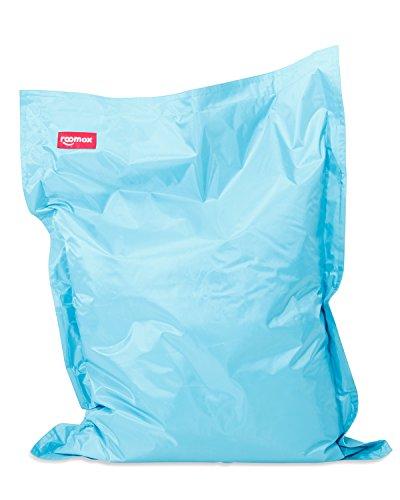 Roomox Original Kinder-Sitzsack-130x100cm-für drinnen & draußen (Hellbalu) Junior Kinder-Sitzsack, Stoff, Hellblau, 130x100x30 cm