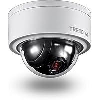 TRENDnet TV-IP420P Caméra réseau dôme PTZ motorisée 3 MP pour intérieur / extérieur
