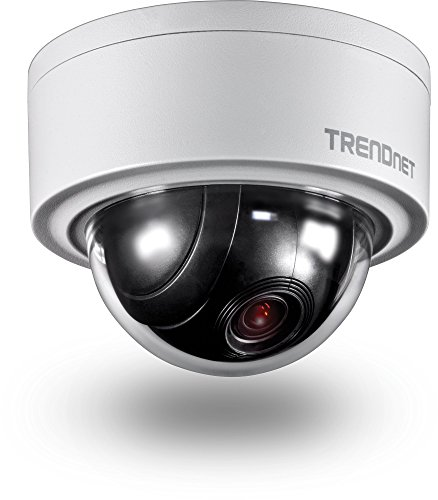 TRENDnet Indoor/Outdoor 3 MP Motorized PTZ Dome Network Camera, TV-IP420P (Motor Dome)