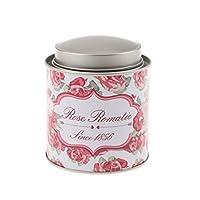 MagiDeal Boîte à Thé Métal Boîte à Bonbon Floral Décoration pour Cuisine Salon Maison 10.5x9.5cm