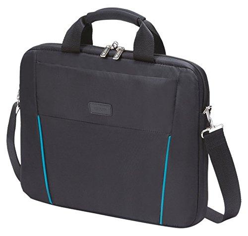 Dicota D30997 15.6 Briefcase Black,Blue notebook case - notebook cases (39.6 cm (15.6), Briefcase, Black, Blue, Nylon, 400 mm, 290 mm) Black, Blue