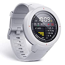 Amazfit Verge Smartwatch by Huami with GPS+ GLONASS All-Day Heart Rate and Activity Tracking, Sleep Monitoring, 5-Day Battery Life, Bluetooth, IPX68 Waterproof – A1811