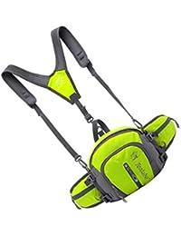 Tradico® Nylon Backpack Messenger Shoulder Fanny Pack Waist Bum Bag Handbag Green