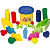 Bingo Dough with Tom and Jerry 3D Molding Shapes, 7 Pieces - Multi Color