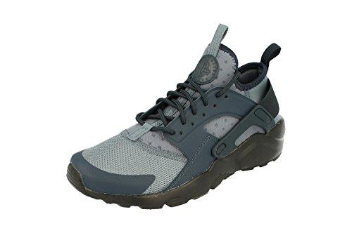 Nike Air Huarache Run Ultra GS Running 847569 Sneakers Turnschuhe (UK 5 US 5.5Y EU 38, Armory Blue Black 405)