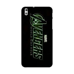 Abhivyakti Comic Superhero Avengers1 Hard Back Case Cover For HTC Desire 816